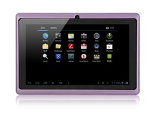 7 inch android tablet PC Q88 Quad core 8GB Card Allwinner A33 android 4 2 2
