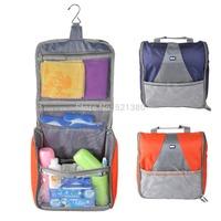 Waterproof Zipper Travel Toiletry Bag Wash Bag Hanging Toiletry Bag Travel Accessory Organizer Pouch Bag 25x10x28cm