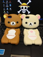 3D Rilakkuma Hard Plastic Case Cover for Apple iPhone 5/5S with Retail Package