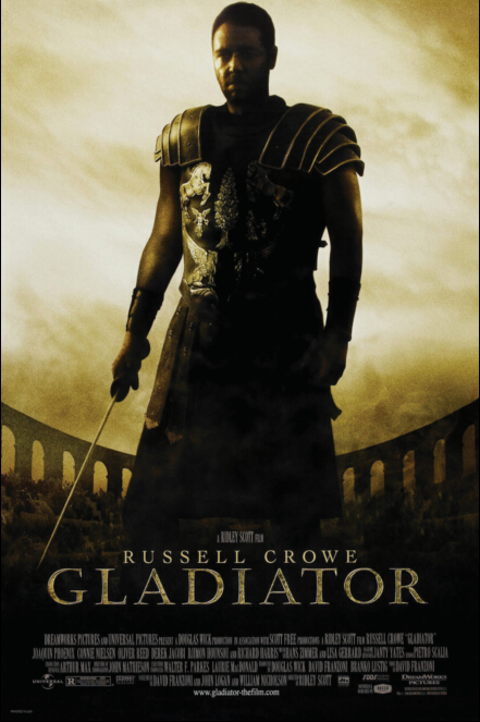 Gladiator Movie Painting Gladiator Movie Poster