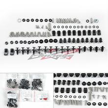 Grátis frete 109 PCS completo carenagem parafuso Kit parafusos porcas parafusos de ajuste para Suzuki GSXR 600 750 06-07(China (Mainland))