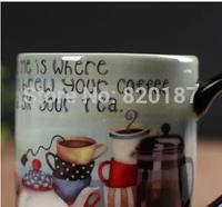 New Gift Self strring coffee cup electric tea mug lounged Automatic Plain Mixing coffee Tea cup Lazy Self strring mug