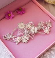 Bride pearl handmade bride hair accessory comb the wedding hair accessory swithin wedding style accessories milky