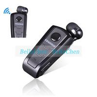 Original High-end F910 business lavalier Wireless Bluetooth headset Calls Remind Vibration Wear Clip long standby headphones