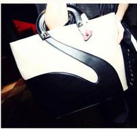 Hot Selling Women Leather Handbag, shoulderbags 2014 New fashion design Women bags free shipping