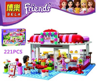 Model Building Blocks City Park Cafe 10162 Friends Sealed Intellectual Learning & Education Girls Bricks Compatible With Lego