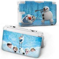 2014 New Cartoon Frozen snowman Protective Hard Case Cover Skin For Nintendo 3DS XL
