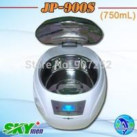 Skymen mini portable ultra sonic bath 750ml CE with 1 year warranty Household Ultrasonic Cleaning