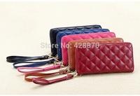 Free Shipping New Fashion Women's Genuine Leather wallet,long style women's wallets purses,Lady's Handbags,Lady bag LYPL-8342S