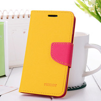 Free Shipping High Quality Flip Protective PU Leather Wallet Case for Samsung Galaxy S3 i9300 With Stand Function