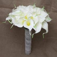 wedding bouquet Hand Made Romantic Calla bride holding flowers handmade wedding supplies