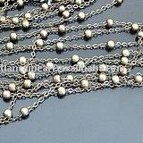 Wholesale jewelry finding 4mm brass chain(China (Mainland))