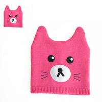 HOT! Brand New Boys Girls Cute Horn Shape Hat Knitted Beanies Kids Cartoon Skullies Fashion Caps Y-1333