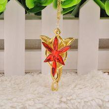 new popular vintage the hobbit the Elves princess necklace Arwen Evenstar necklace pendant for men and