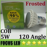 Bulbs Buy CE ROHS CSA UL   PAR16 E27 E26 Lights Dimmable Frosted GU10 MR16 Spot Warm/Cool White 120 Angle 110-240V 12V,