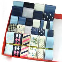 Free Shipping hair accessory ribbon handmade material mix 29 yards ribbon for craft ribbon set craft