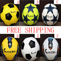 HOT Free Shipping Size 4 Soccer Ball/Official Match Football Balls/TPU High Quality champions league blue five-star teenagers