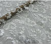 3D Wedding Dress Tull embroidery Lace Fabrics