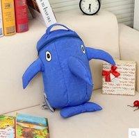 The New Cartoon Small Sharks Children Schoolbag/Kindergarten Backpack/Travelling Bag 2011