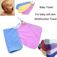 3 Pcs/Lot Baby Towel Microfiber Fabric 30*30 Can Wash Face, Wipe Saliva, Multifunction Towel toalha de banho infantil
