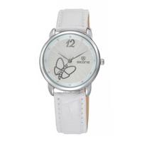 Fashion Genuine Leather Strap SKONE Watches For Women Women Quartz Waterproof Wristwatch