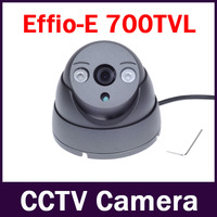 "New 1/3"" Sony CCD Effio-e 700TVL 960H 2pcs Array IR LEDS 3.6mm Lens Outdoor/indoor waterproof Security Dome CCTV Camera"