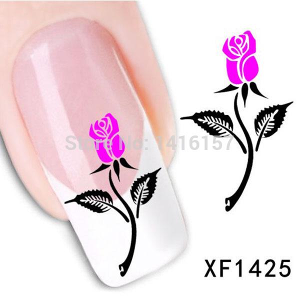 Наклейки для ногтей Fashion-style  XF1425
