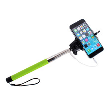 Drop shipping For Camera Phone Holder Self Portrait Selfie Stick Photo Handheld Monopod New Free shipping