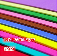 50*50cm*2mm Thick,EVA Sponge Paper for DIY Scrapbooking,Foam Sheet,Punch Paper,Foam Crafts,Easy to Cut,Kids Handmade Paper