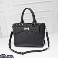 2014 fashion color block handbag shoulder bag messenger bag sweet women's handbag