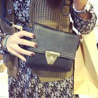 2014 women's handbag three-color vintage messenger bag shoulder bag female bag small messenger bag