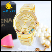 100/lot Geneva newest vintage vogue high popularity personality charming ladies watch(WJ-3195)