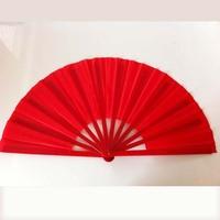 "New Arrival 13"" Chinese Tai Chi Fan Plastic Folding Kung Fu Fan Hand Right Martial Arts Taiji Fan Dance Fan Without Words"
