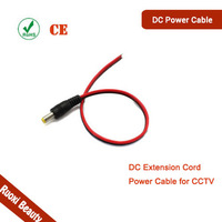 Top10 Selling 30cm 5.5x2.1mm Male 12V DC Power Cable
