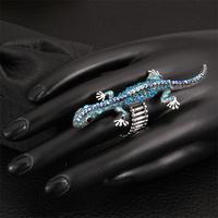 Free shipping! Fashion unique gold custom animal rings, wholesales adjustable vintage rings women USR578