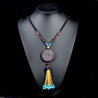 Thai Indonesian ebony necklace to match natural gem luxury and elegance fashion female