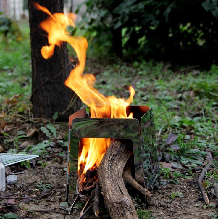Baño Con Refresco Rojo:Outdoor Portable Wood Stove