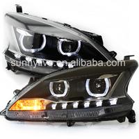 2012-2014 LED Front light For NISSAN Sentra  Sylphy