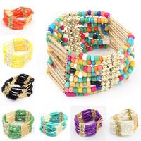 European and American fashion bohemian flow Sumi Bead Bracelet Korean fashion bracelet