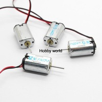 Free shipping !!5pcs M20 micro Motor long axis with cable motor Toy motor