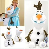 Newest Fashion 20cm 30cm 50cm Anime Cartoon Frozen The Snowman Plush Toy Soft Stuffed Plush Dolls Frozen Olaf Toy