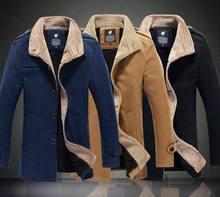 fashion mens wool jackets mens windbreaker slim men's winter coats for boys outerwear