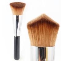 Professional 3D Kabuki Brush  Double Wedge Multipurpose Liquid Cream Powder Makeup Brush Cosmetic Tool