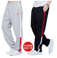 Free shipping 2014 Jordan cotton pants men Basketball pants Jogging pants Shut sweatpants Spring and autumn and winter models