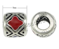 Free shipping!!!925 Sterling Silver European Beads,2014 Jewelry, Column, handmade