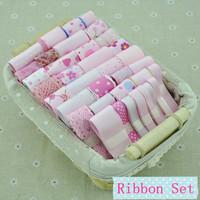 Free Shipping 36YDS Pink Printed Grosgrain Ribbons,Mixed Satin Grosgrain Ribbon Set,hand made kids accessories,DIY Tape
