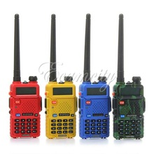 BAOFENG UV 5R Interphone Dual Band VHF UHF 65 108MHZ Handheld Walkie Talkie With Adapter With