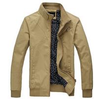 Free Shipping New Fashion 2014 Arrival Warm Winter Jacket man Super Thin Casual Men Outerwear Coat Plus Size M-XXXL #LJF47