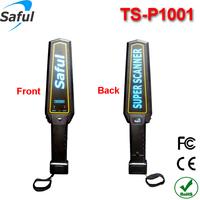 Free shipping high sensitivity TS-P1001 portable handheld metal detector