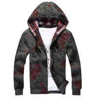 Free shipping 2014 new fashion man thin hoody  male long sleeved casual Hooded coat ,hoodies men 73